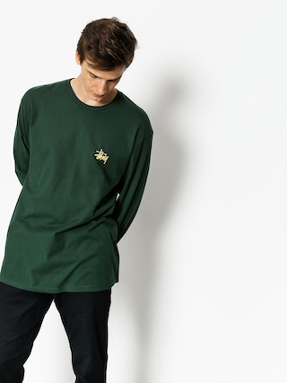 Triko Stussy Basic (dark forest)