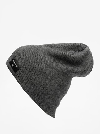 Čepice Quiksilver Cushy Slouch Beanie (dark charcoal heather)