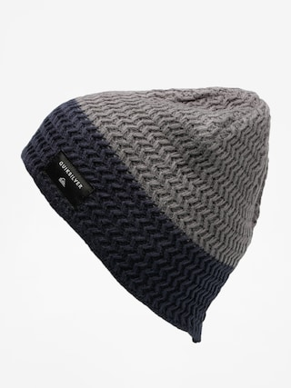Čepice Quiksilver Cushy Color Beanie (iron gate/navy blazer)