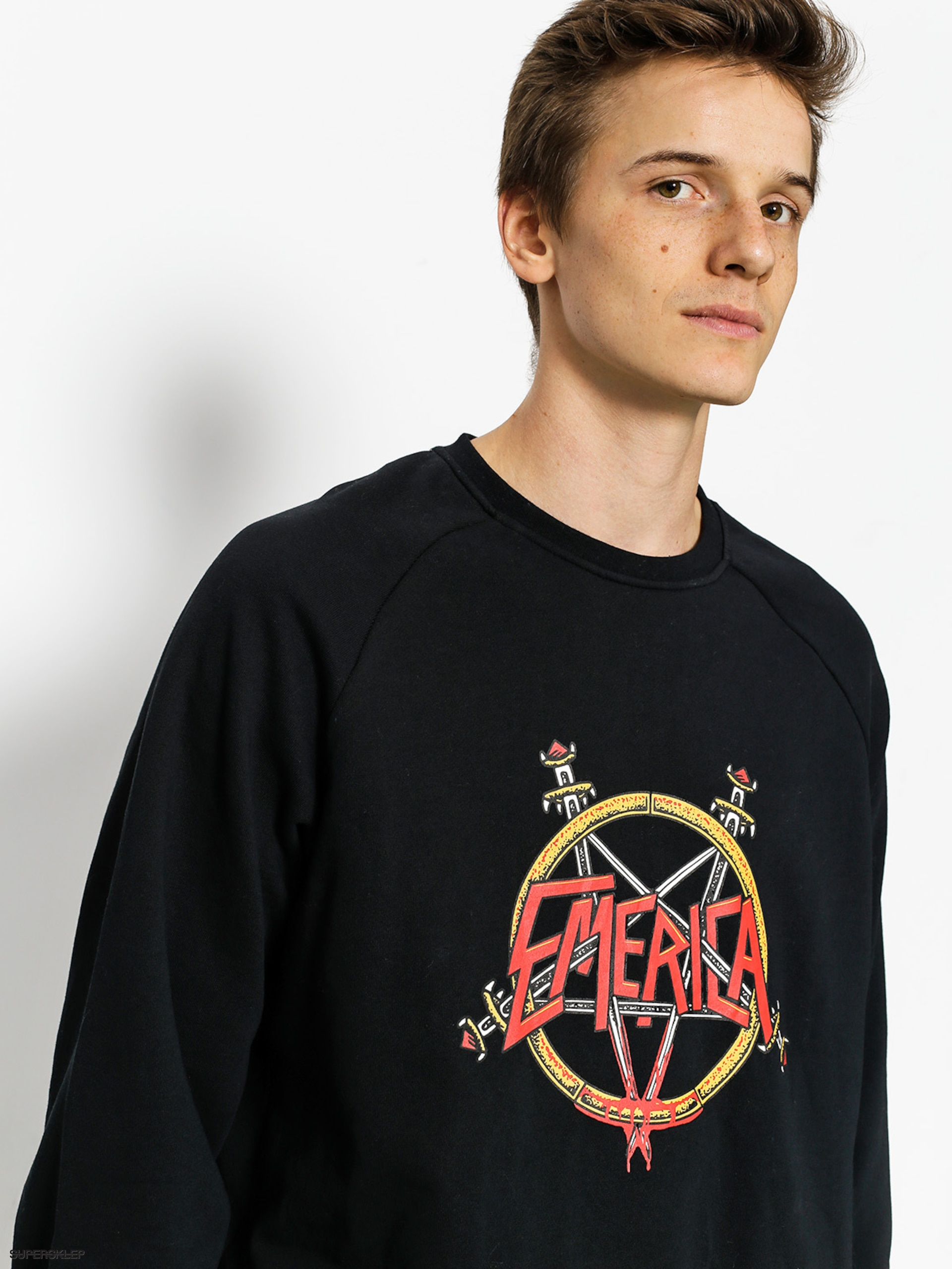 Mikina Emerica Arrows Crewneck
