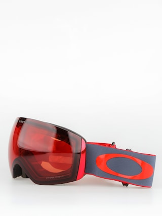 Oakley Brýle na snowboard Flight Deck (wet dry red iron/prizm snow rose)