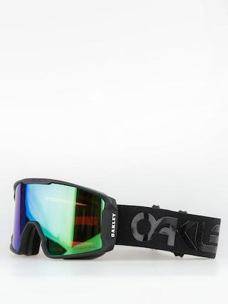 Bru00fdle na snowboard Oakley Line Miner (factory pilot blackout/prizm jade iridium)