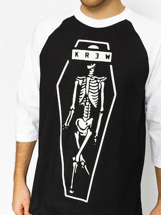 Kr3w Tričko Skeleton Kr3W (black/white)