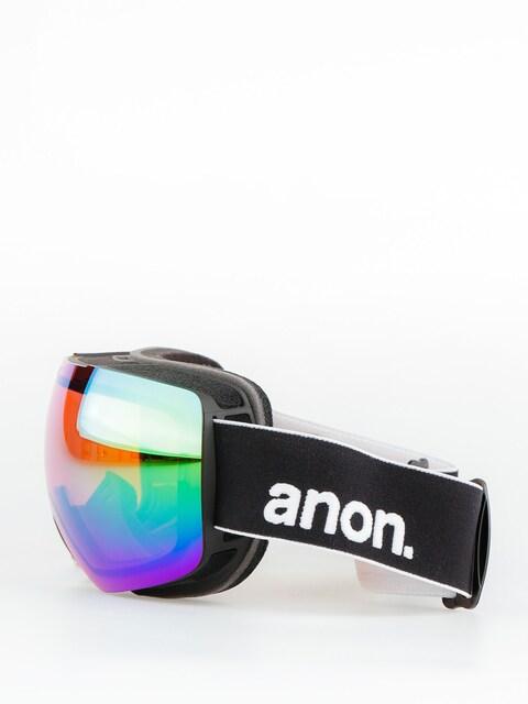 Brýle na snowboard Anon Mig (black/sonargreen)