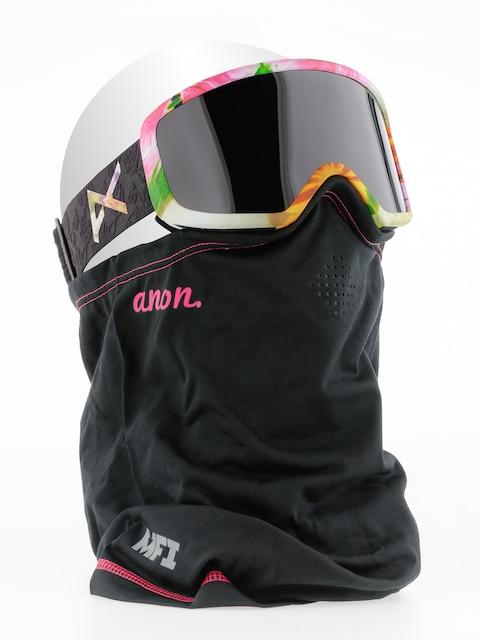 Brýle na snowboard Anon Deringer Mfi Wmn (black widow/dk smoke)