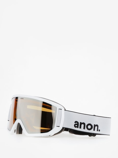 Brýle na snowboard Anon Relapse (white/silver amber)