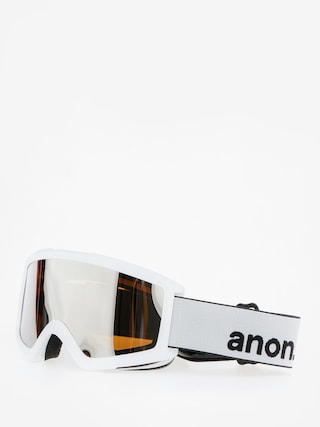 Brýle na snowboard Anon Helix 2.0 W/Spare (white/silver amber)