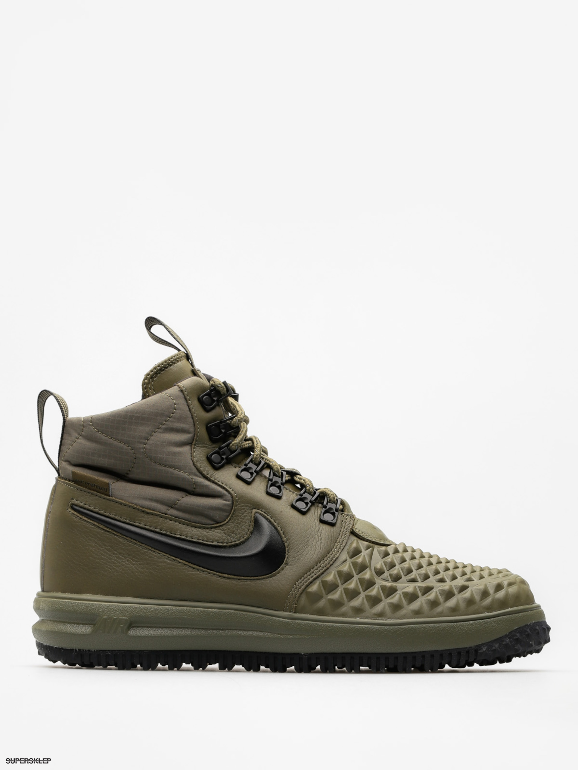 Boty Nike Lunar Force 1 17 Duckboot (medium olive/black wolf grey)