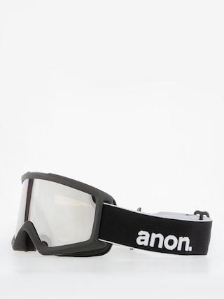 Bru00fdle na snowboard Anon Helix 2.0 W/Spare (black/silver amber)