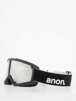 Brýle na snowboard Anon Helix 2.0 W/Spare (black/silver amber)