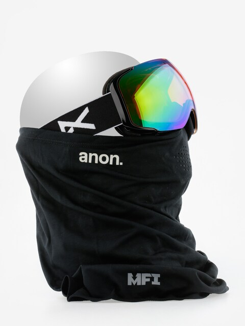 Brýle na snowboard Anon M2 Mfi (black/sonargreen)