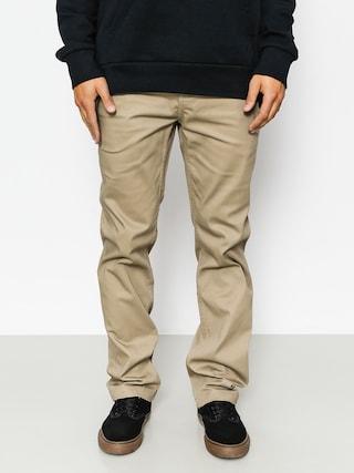 Kalhoty Etnies Essential Straight Chino (khaki)