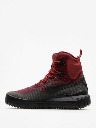 Boty Nike Air Wild Mid (dark team red/black port wine)