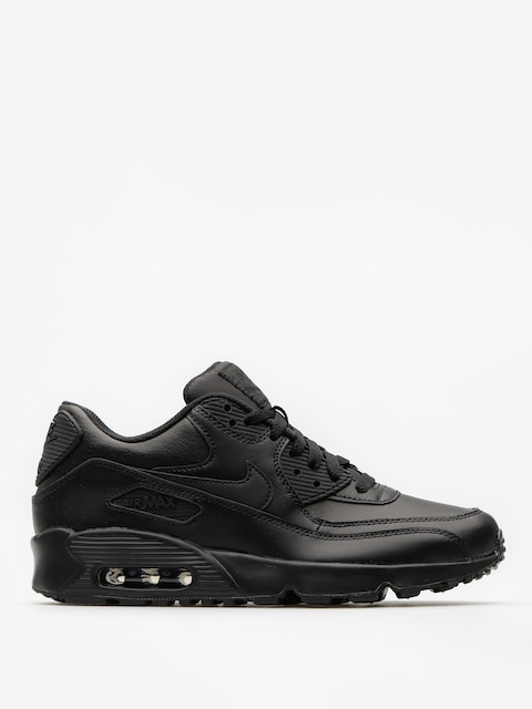 Boty Nike Air Max 90 Leather Gs (black/black)