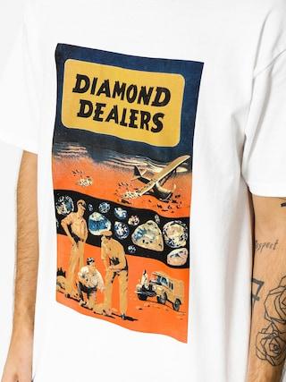 Tričko Diamond Supply Co. Dealers (white)