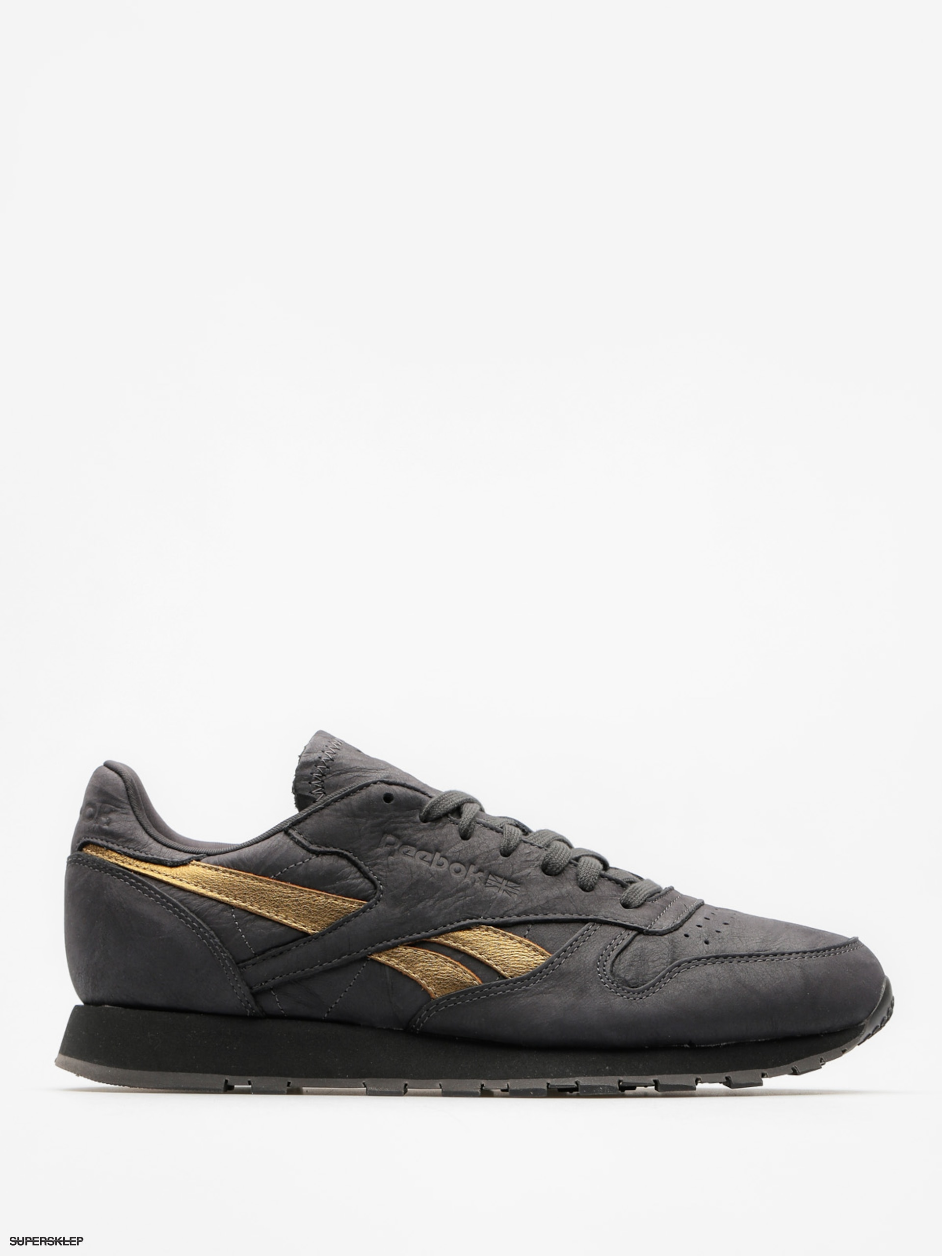 Boty Reebok Cl Leather Tu (coal/gold enrod)