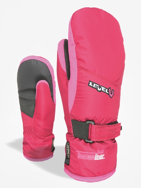 Rukavice Level Junior Mitt (fucsia)