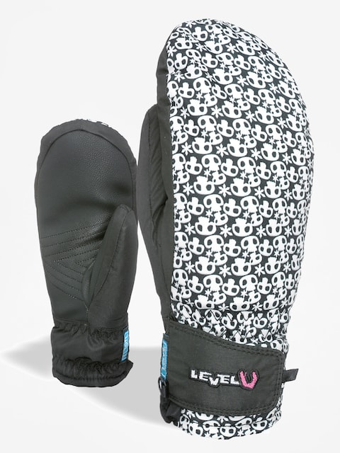 Rukavice Level Juke Jr Mitt (black/white)
