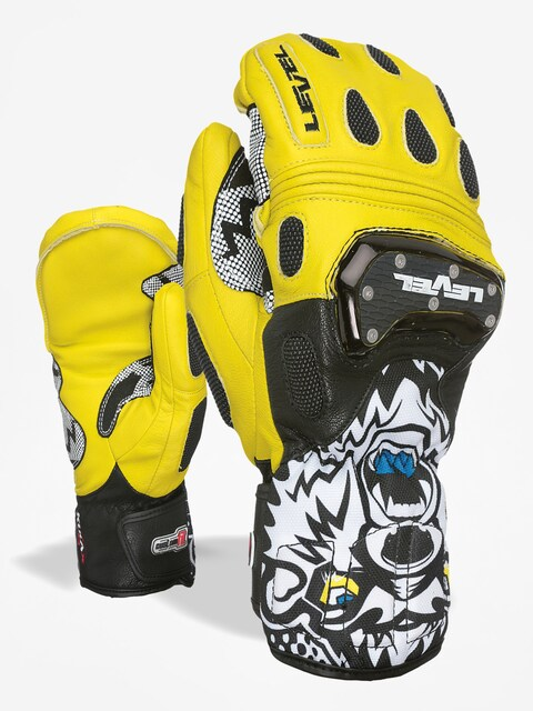 Rukavice Level Sq Cf Mitt (black yellow)