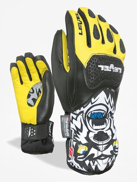 Level Rukavice Sq Jr Cf (black yellow)