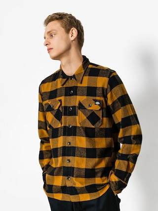 Kou0161ile Dickies Sacramento LS (brown duck)