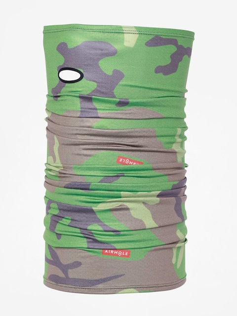 Airhole Šátek Airtube Drylite (woodland camo)