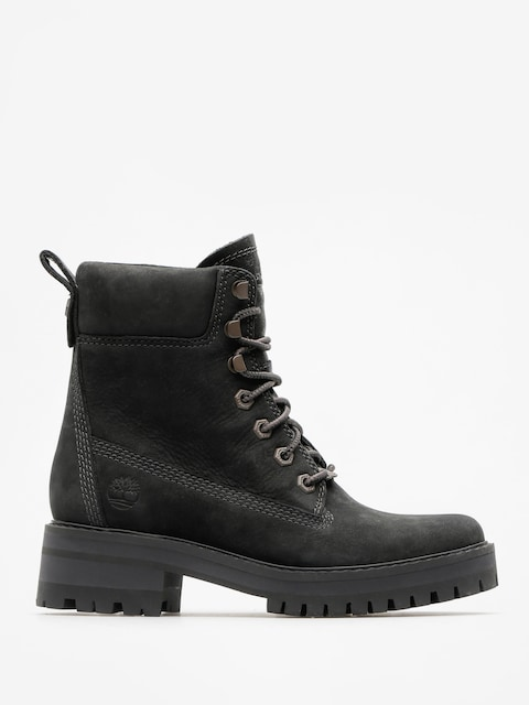 Boty Timberland Courmayeur Valley Yboot Wmn (black nubuck)