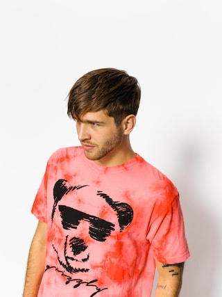 Tričko Grizzly Griptape Coolin (red)