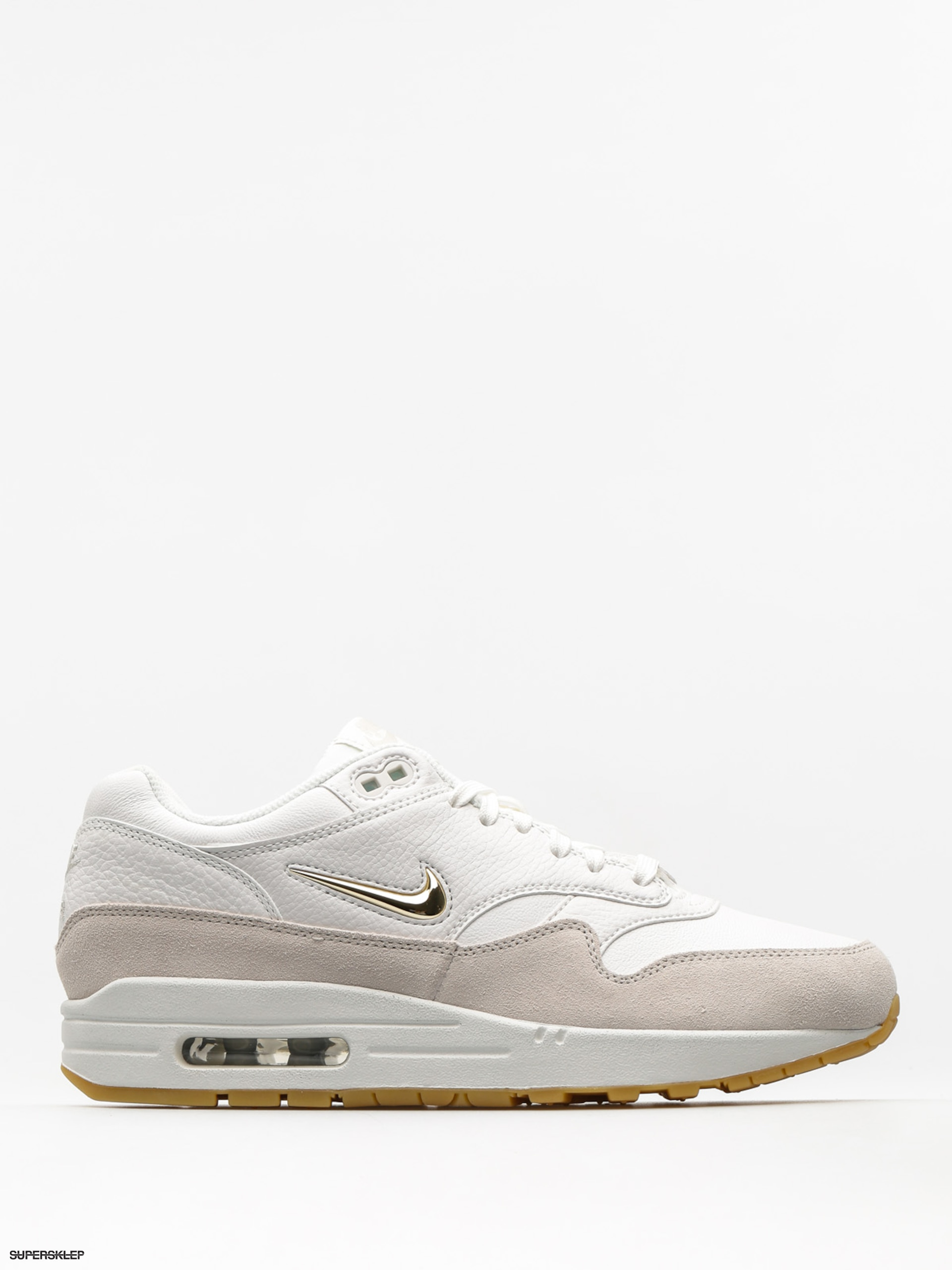 Nike Boty Air Max 1 Premium SC Wmn (summit white/mtlc gold star light bone)