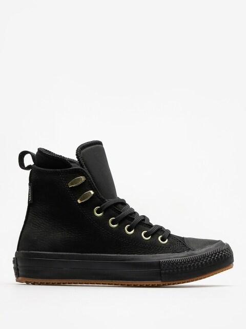 Converse Tenisky Chuck Taylor WP Boot Hi Wmn (black/black/brass)