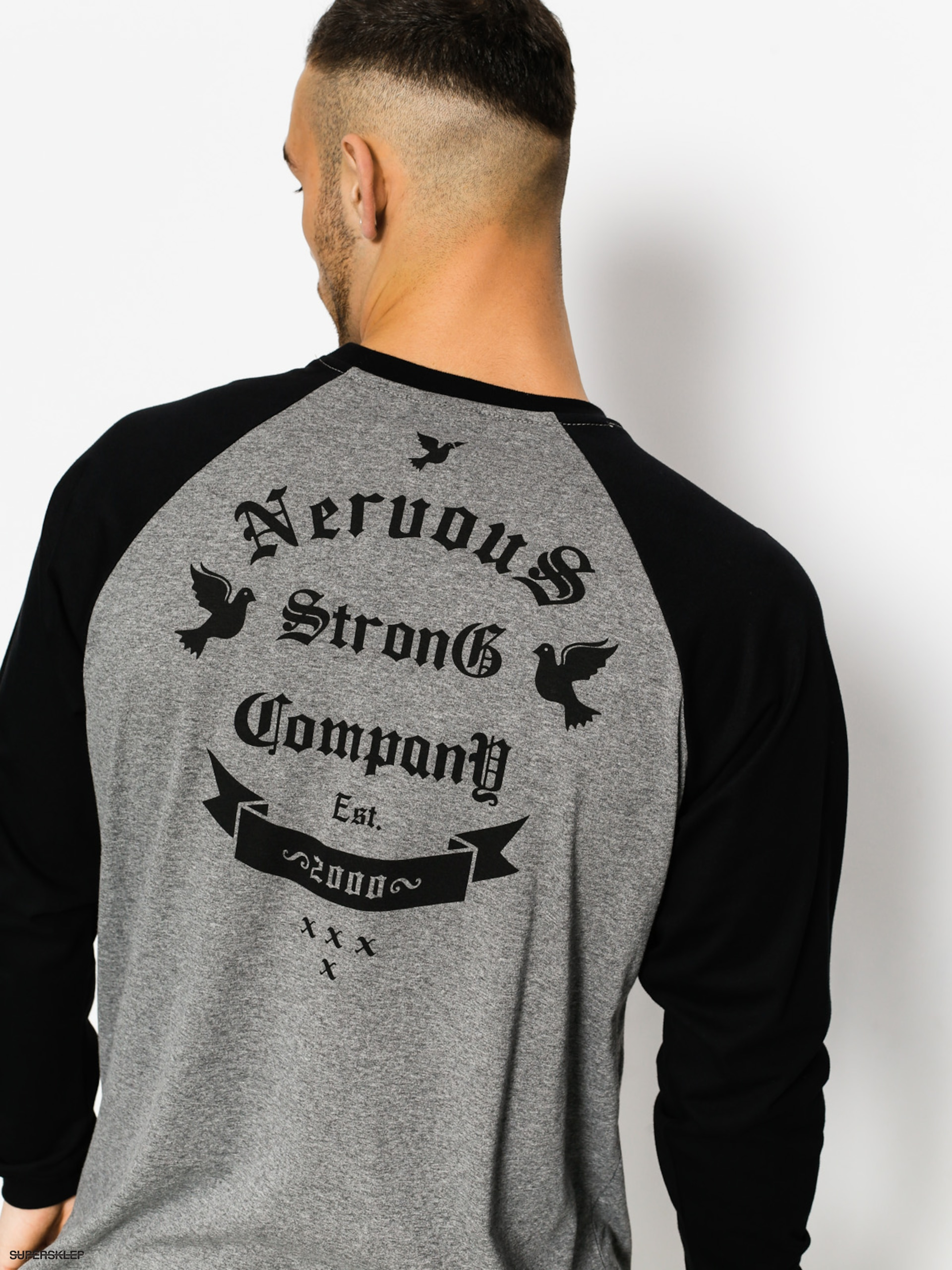 Nervous Longsleeve Arms (graphite/black)