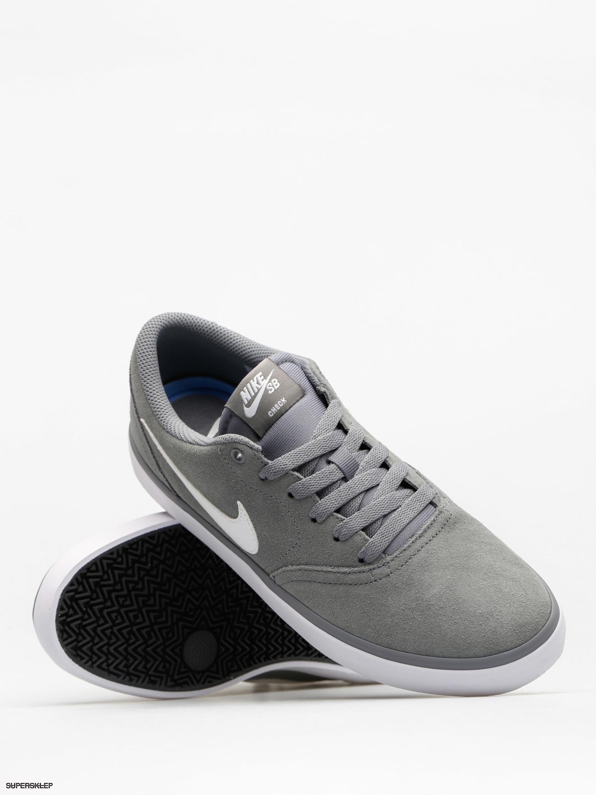 reputable site 934e9 83f36 Boty Nike SB Check Solar (cool grey white)