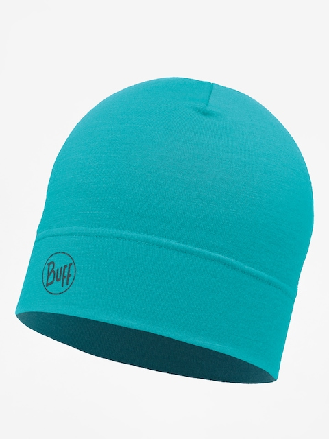 Čepice Buff Midweight Merino Wool (solid turquoise)