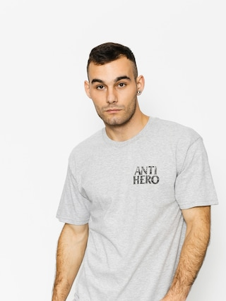 Tričko Antihero Bckfil Hstry (athletic heather/black)