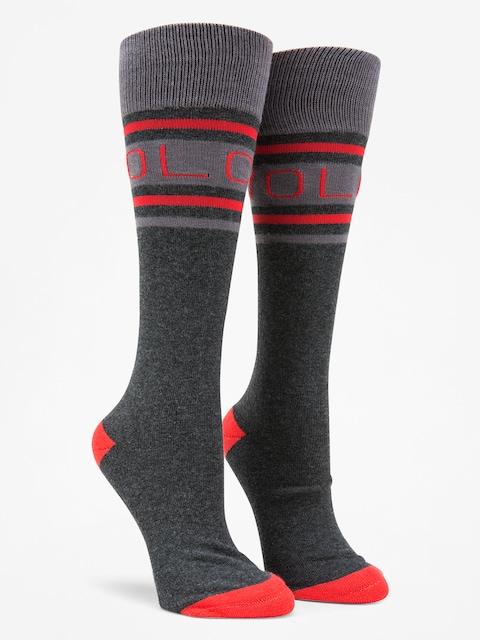 Ponožky Volcom Hawk Wmn (blk)