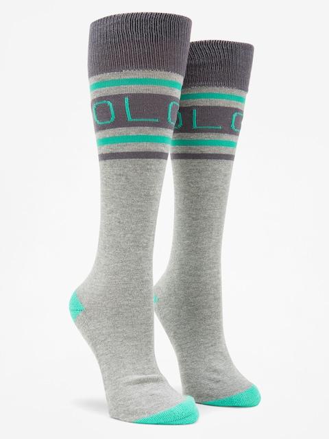 Ponožky Volcom Hawk Wmn (hgr)