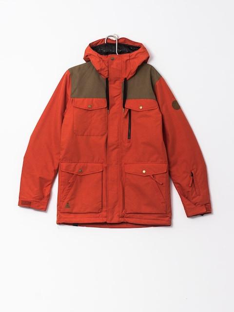 Snowboardová bunda Quiksilver Raft (ketchup red)