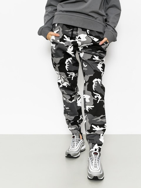 Kalhoty Diamante Wear Rm Classic Jogger (black/white/camo)