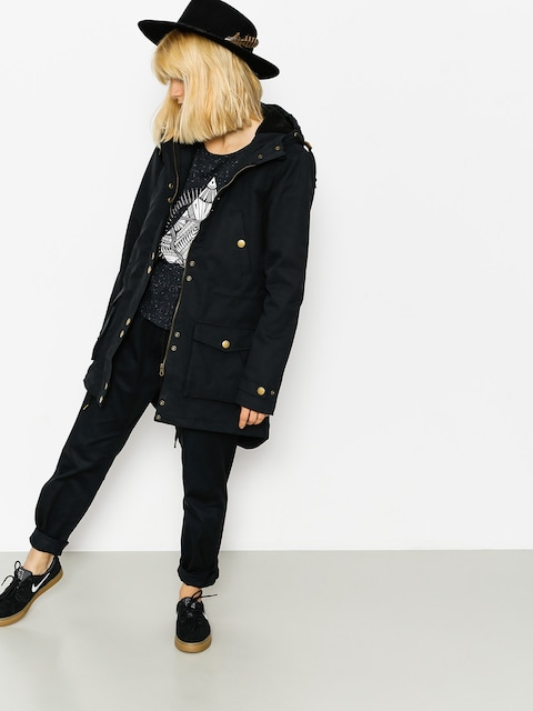 Bunda Volcom Walk On By Parka Wmn (blk)