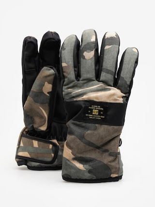 DC Rukavice Franchise Glove (woodland camo)