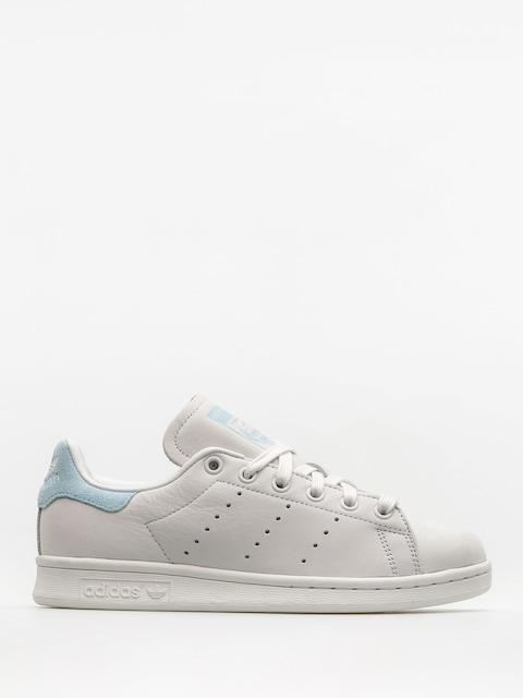 Boty adidas Stan Smith Wmn (crywht/crywht/iceblu)