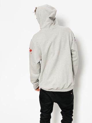 Mikina s kapucí SSG 08 Lines HD (grey/black)