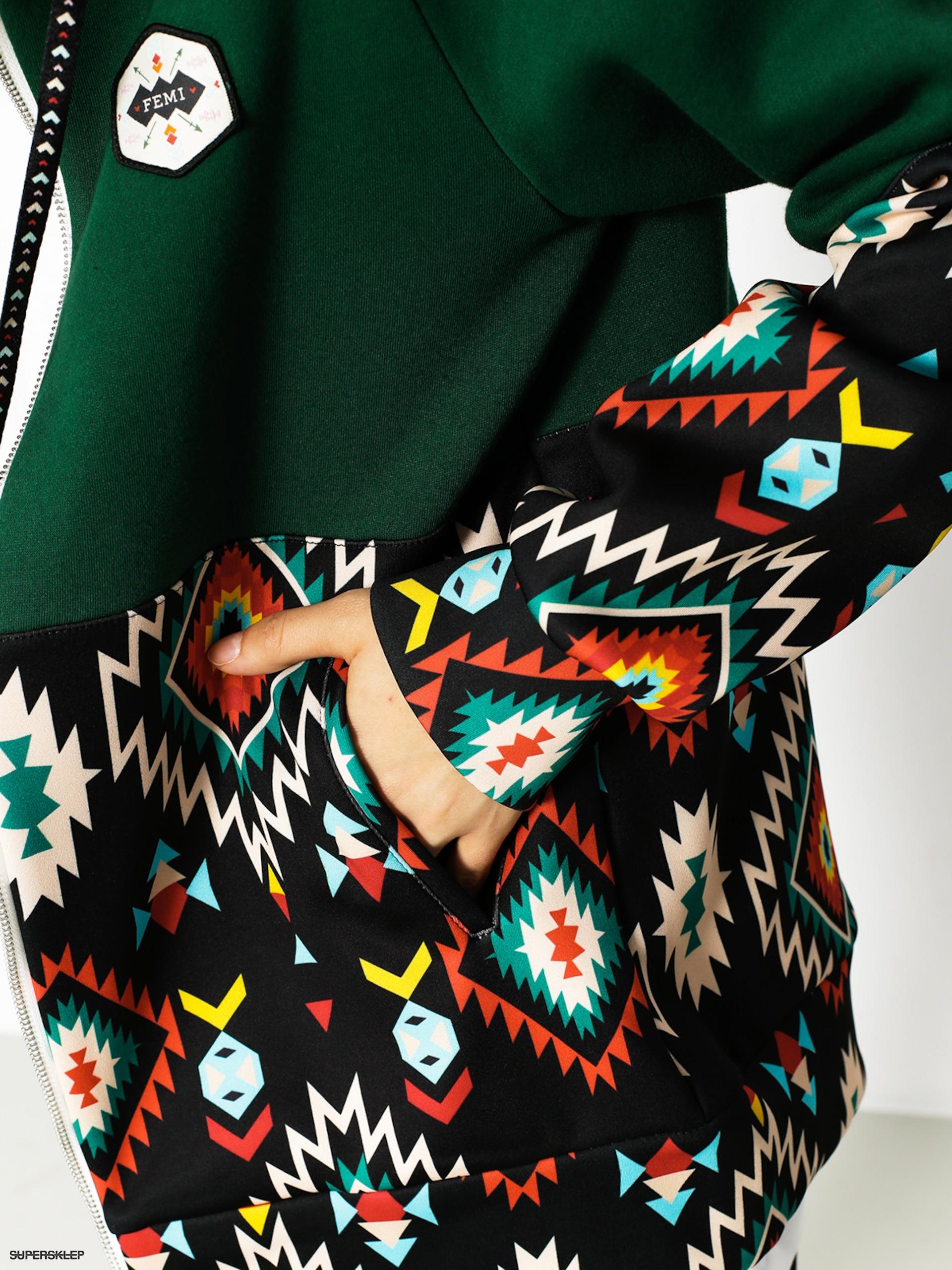wiele modnych gorąca wyprzedaż tanie jak barszcz Mikina s kapucí Femi Stories Tito ZHD Wmn (blk azt)