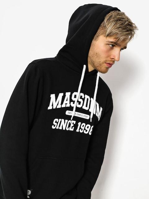 Mikina s kapucí MassDnm Campus HD (black)