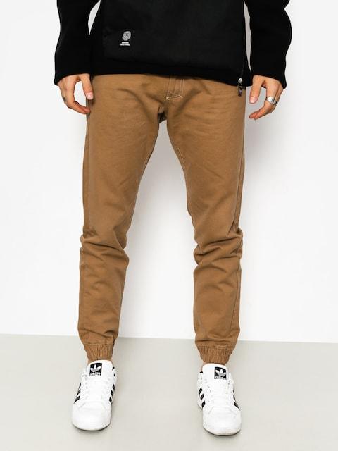 Kalhoty MassDnm Base Joggers (beige)