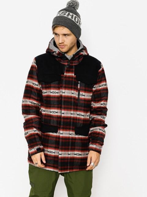 Snowboardová bunda Burton Covert (fired brick azrek)