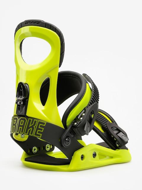 Snowboardové vázání Drake King (lime)