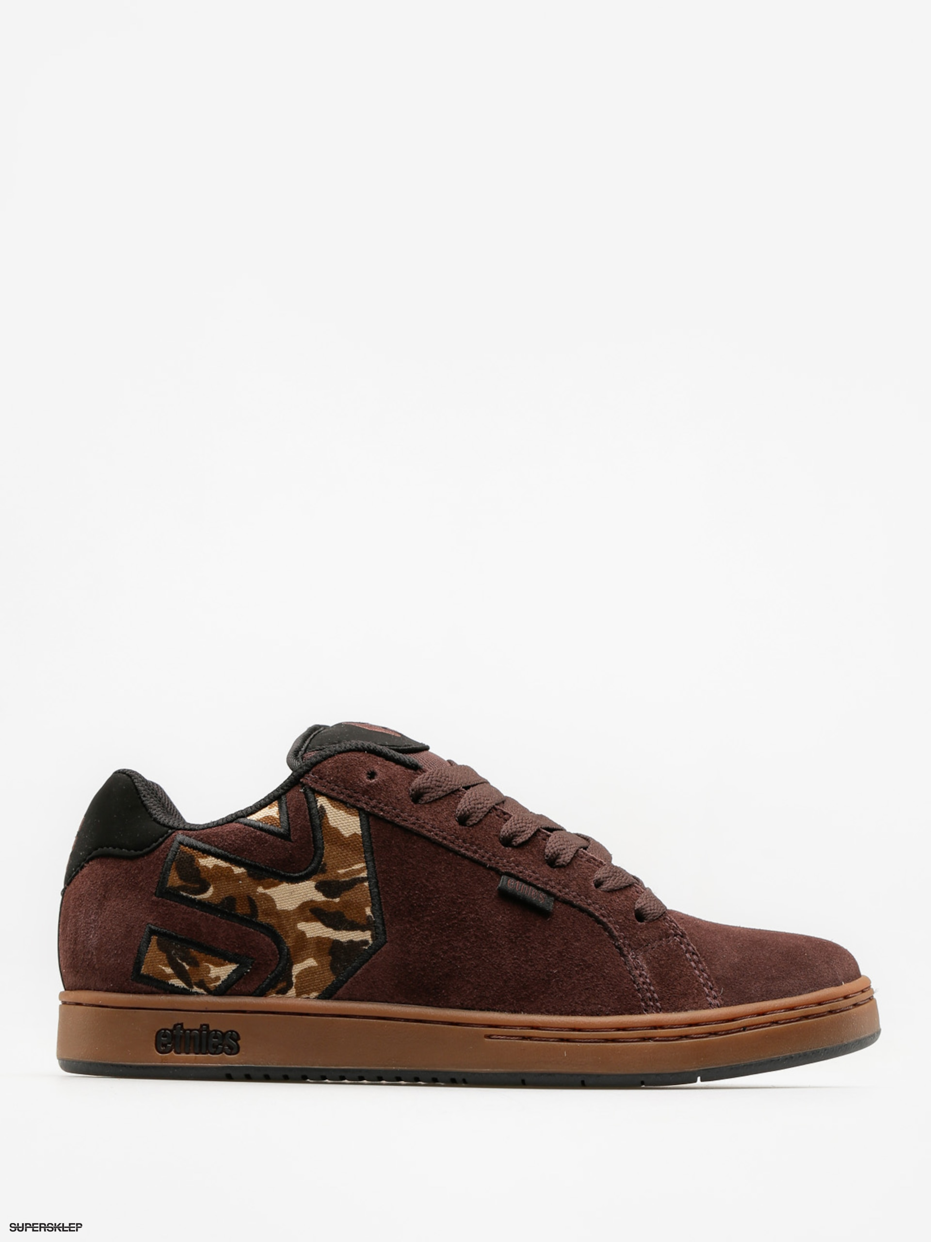 Boty Etnies Fader (brown/black/gum)