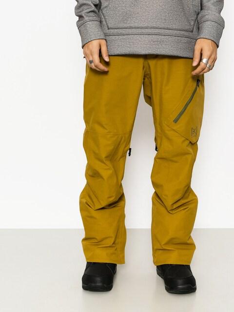 Snowboardové kalhoty  Burton Ak Gore Cyclic (amber green)