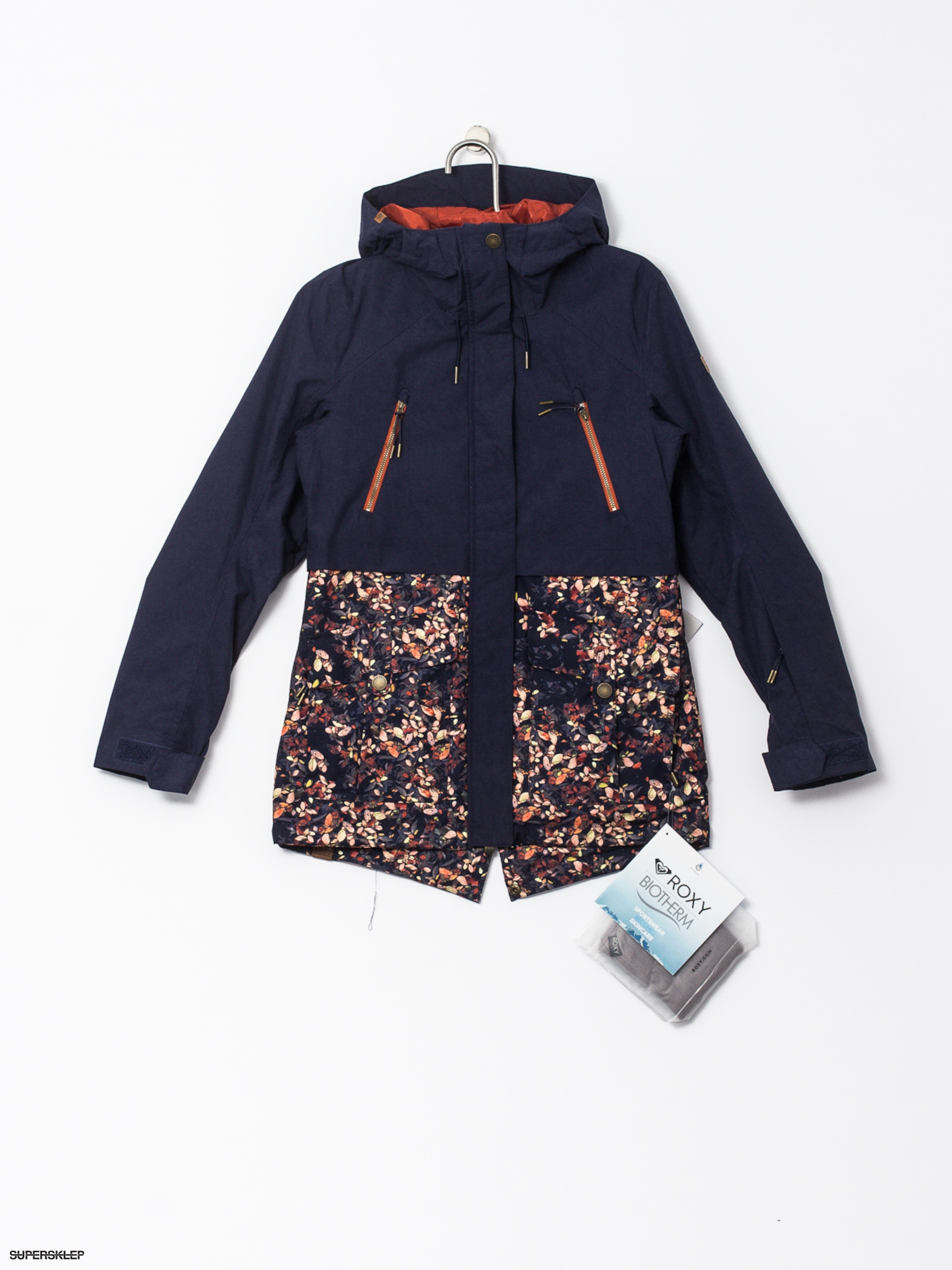 Snowboardová bunda Roxy Tribe Wmn (peacoat waterleaf)